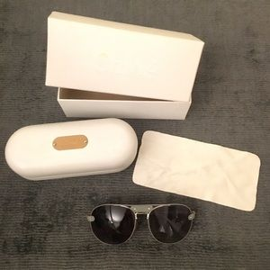 CHLOE AVIATOR SUNGLASSES WITH CASE